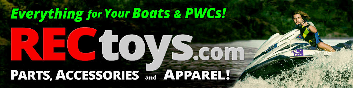 RECtoys Boats & PWCs - Parts, Accessories & Apparel Header Image and Logo