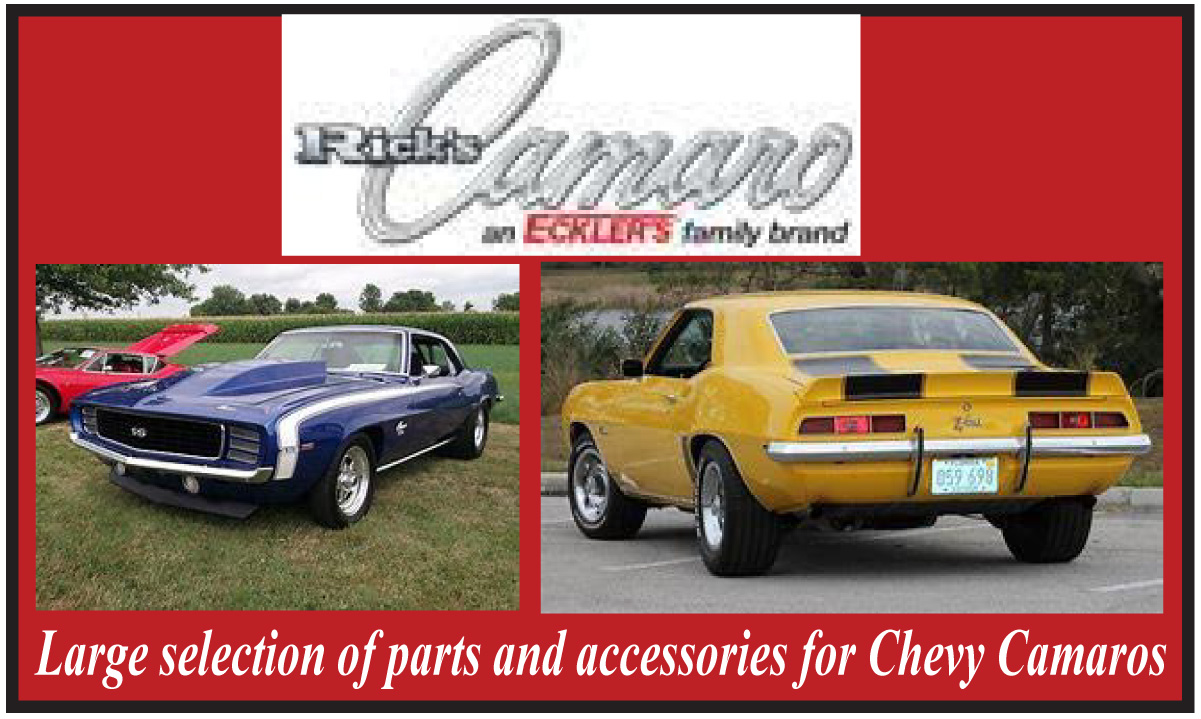 Rick's Camaro Parts: Classic Camaro Parts | RECtoys com